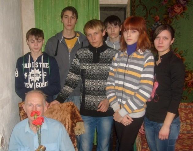 Встреча с ветераном Великой Отечественной войны В.А. Макаренковым