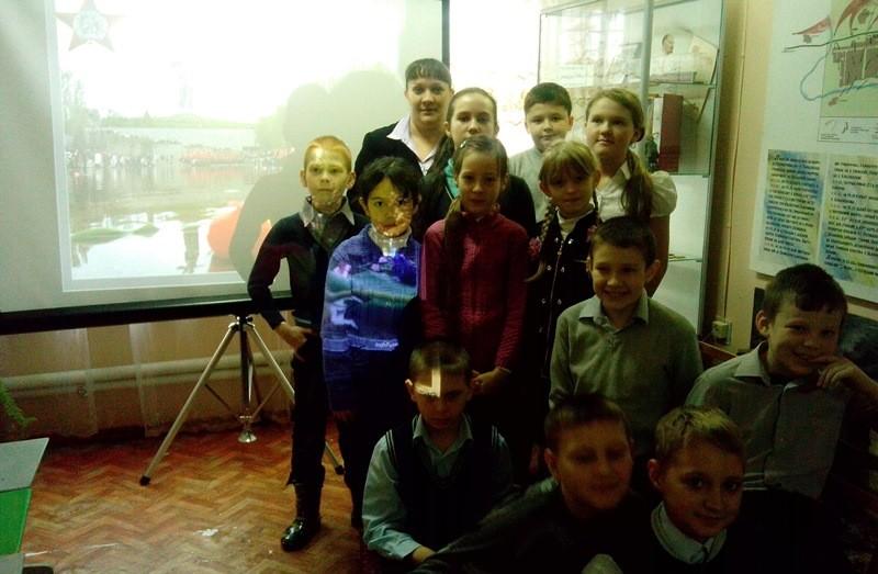 Учащиеся 3 а класса МБОУ Обливской СОШ № 1  посетили краеведческий музей
