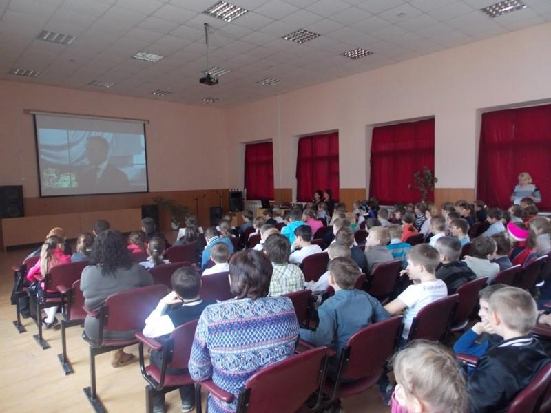 Урок Победы с использованием видеозаписи Всероссийского урока, посвящённого 70-летию Победы в Великой Отечественной войне