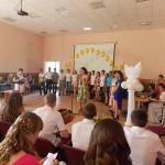 Торжественное вручение аттестатов обучающимся, окончившим 9 класс