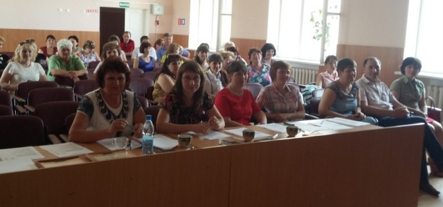 Публичная презентация результатов педагогической деятельности учителей Обливского района
