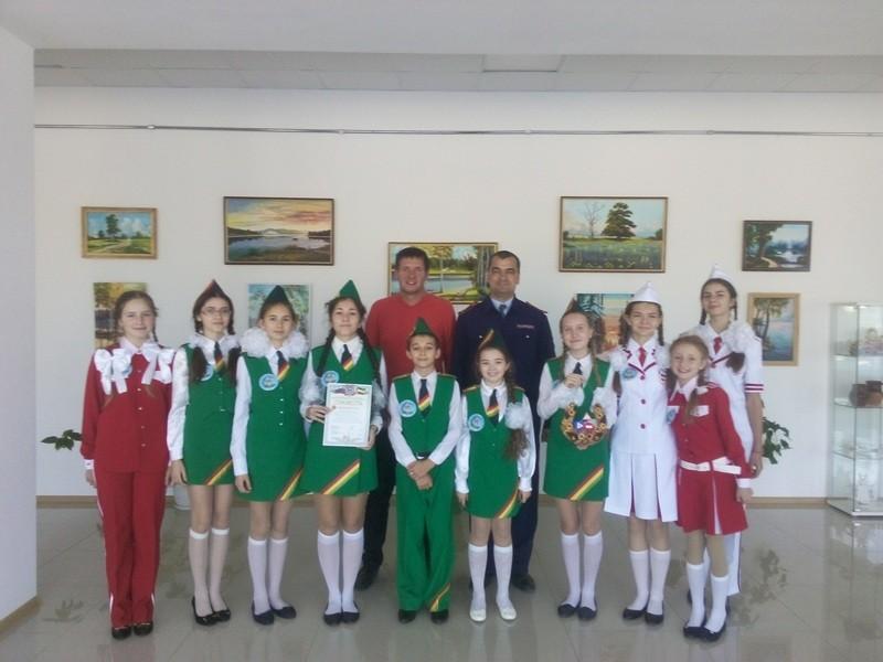 Зональный конкурс готовности отрядов ЮИД.