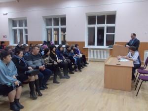 Собрание для родителей обучающихся 4-х классов по вопросу проведения апробации Всероссийских проверочных работ.