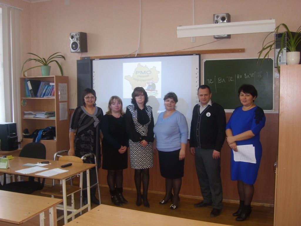 Заседание районного методического объединения учителей информатики на тему «Организация работы с одаренными детьми»