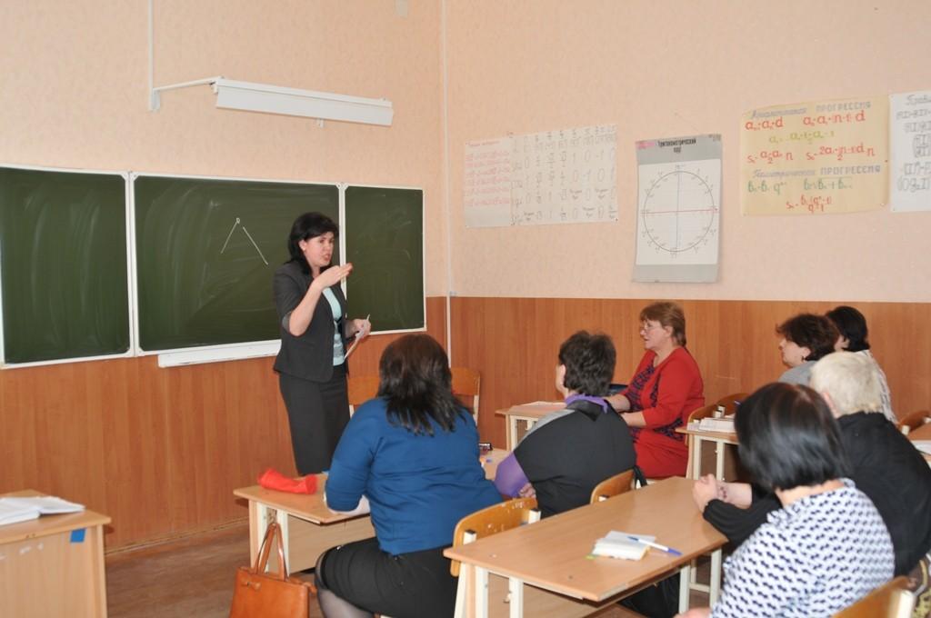 Заседание РМО учителей математики