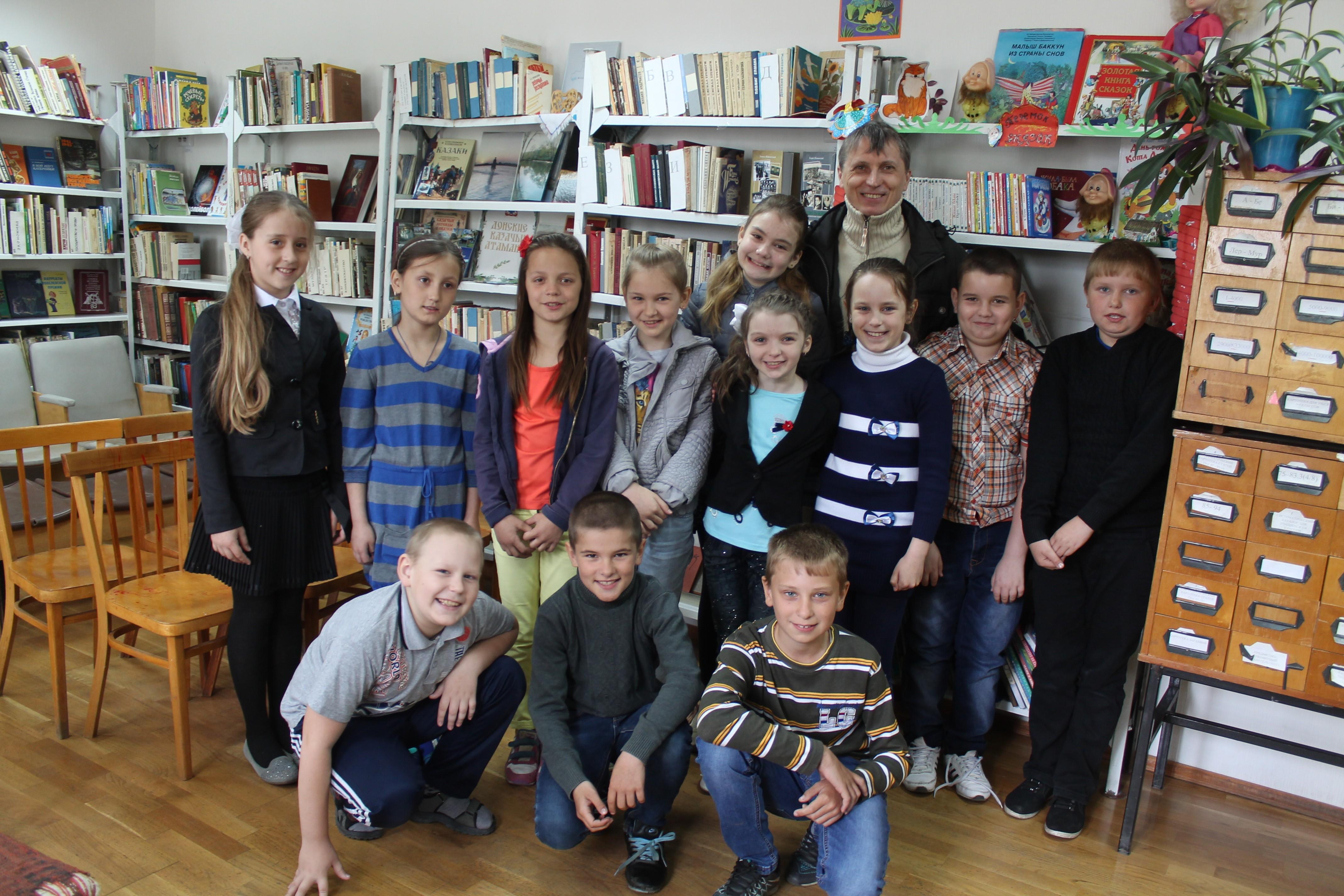 Творческая встреча с известным челябинским детским поэтом Михаилом Придворовым