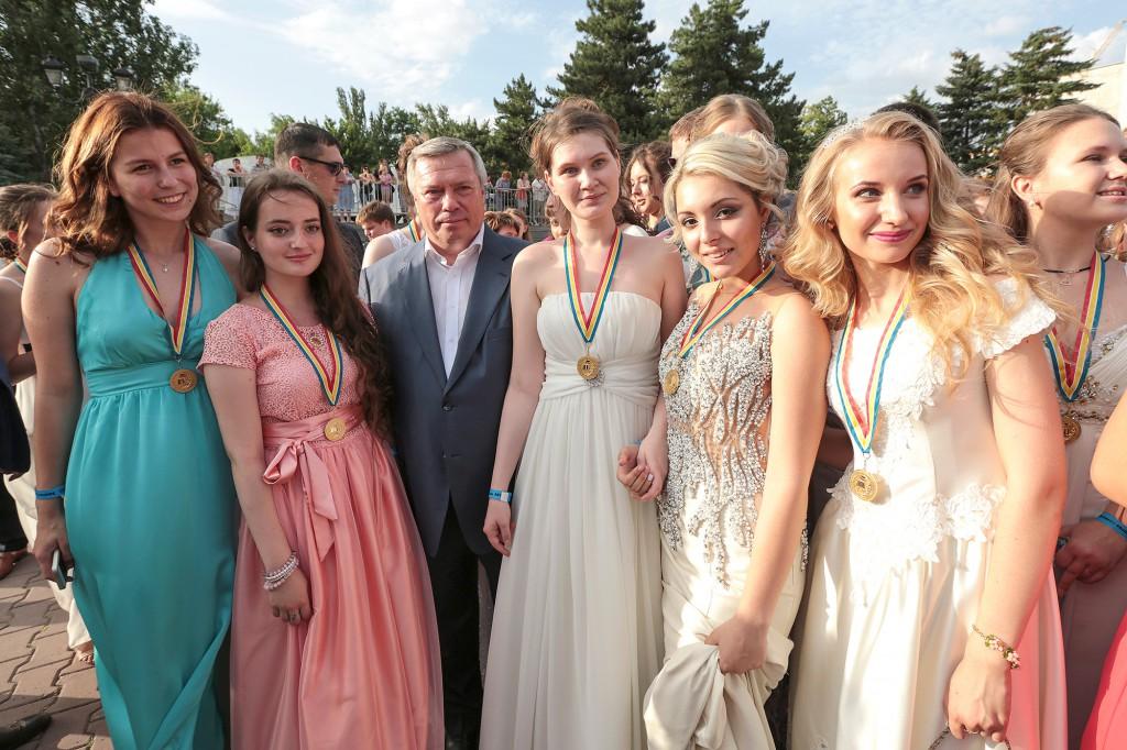 Наши участники Губернаторского бала выпускников «Золотое созвездие Дона - 2016».