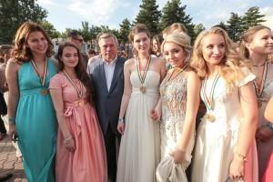 Наши участники Губернаторского бала выпускников «Золотое созвездие Дона – 2016».