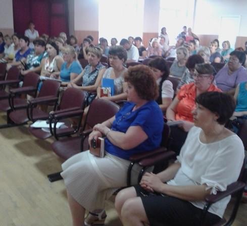 Первое общерайонное родительское собрание по вопросам подготовки к сдаче ГИА в 2017 году