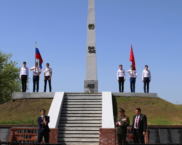 Мероприятия военно-патриотического воспитания, посвященные Дню Победы