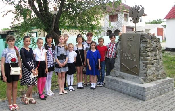 Посещение Обливского краеведческого музея