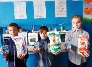 """Кривовская школа приняла участие в проекте """"Три молочных продукта в день"""""""