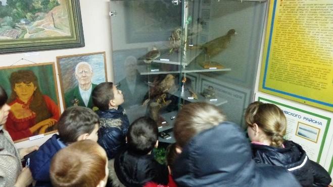 Военно-патриотическое воспитание в Кривовской ООШ
