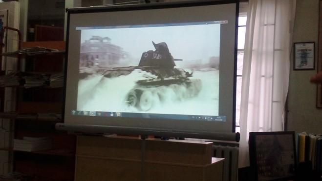 Коллективные просмотры фильмов о войне