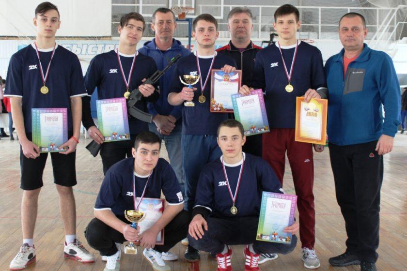 Военно-спортивные соревнования среди призывной молодёжи Обливского района