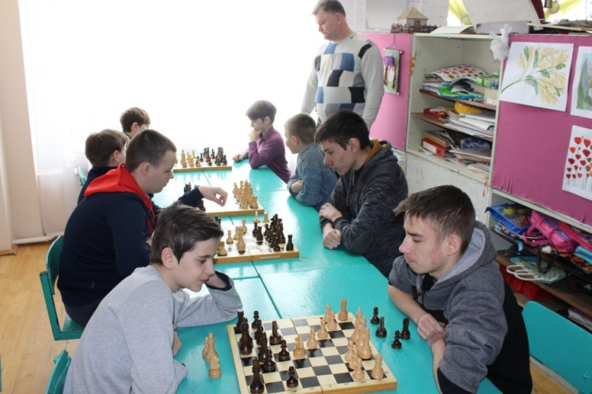 Шахматный турнир среди учащихся школ Обливского района