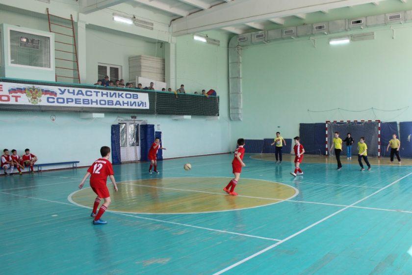 Финалы соревнований по мини-футболу на Кубок Главы Обливского района