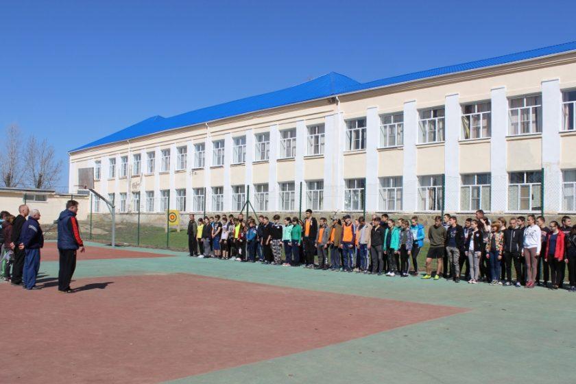 Муниципальный этап Всероссийских «Президентских спортивных состязаний»