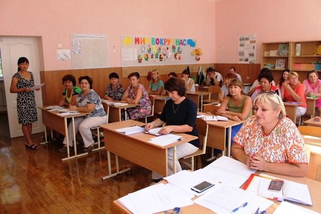 Организационно-установочное заседание ШМО классных руководителей.