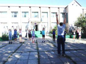 День здоровья в Кривовской школе
