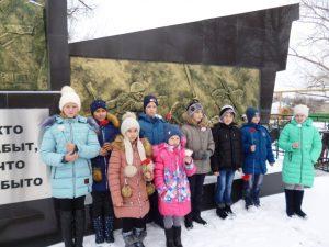 Неделя Воинской славы в Кривовской школе