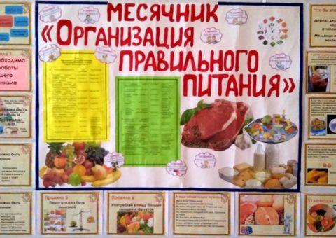 Организация правильного питания