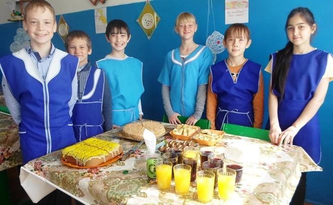«Организация правильного питания» в Кривовской ООШ