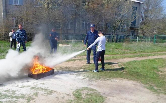 Комплексное занятие по пожарной безопасности