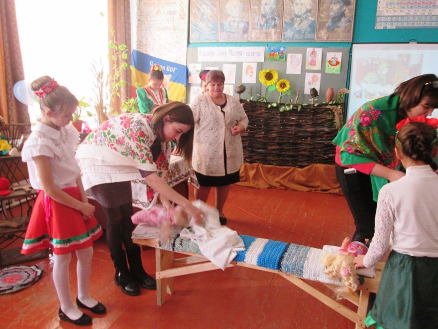 День матери - казачки