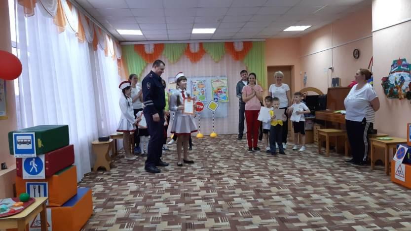 """ЮИДовцы отряда """"Перекресток"""" встретились с воспитанниками детских садов"""