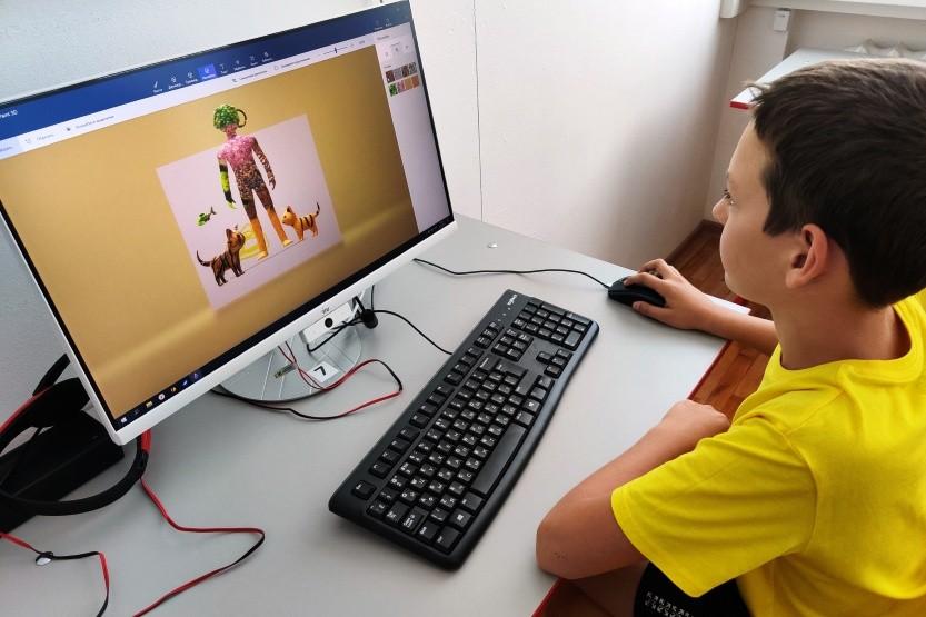 Компьютерный дизайн в центре «Точка роста»