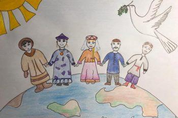 Результаты онлайн-конкурса художественных работ «Хоровод дружбы народов России»