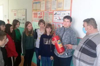 Всероссийский открытый урок по основам безопасности жизнедеятельности в Караичевской ООШ